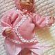 Для новорожденных, ручной работы. Комплект Нежно-розовый. Светлана (19911998) (19911998). Интернет-магазин Ярмарка Мастеров. Шапочка