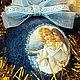 """Новый год 2017 ручной работы. Новогодние шары """"Ангелы"""". Ёлика. Интернет-магазин Ярмарка Мастеров. Новогодние шары, глиттер"""