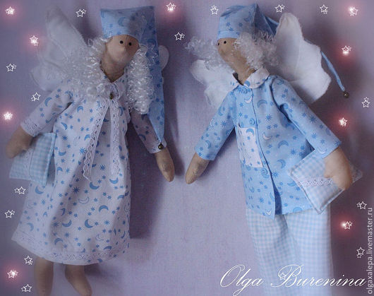 Куклы Тильды ручной работы. Ярмарка Мастеров - ручная работа. Купить Сплюшки. Handmade. Сплюшки, корейский хлопок