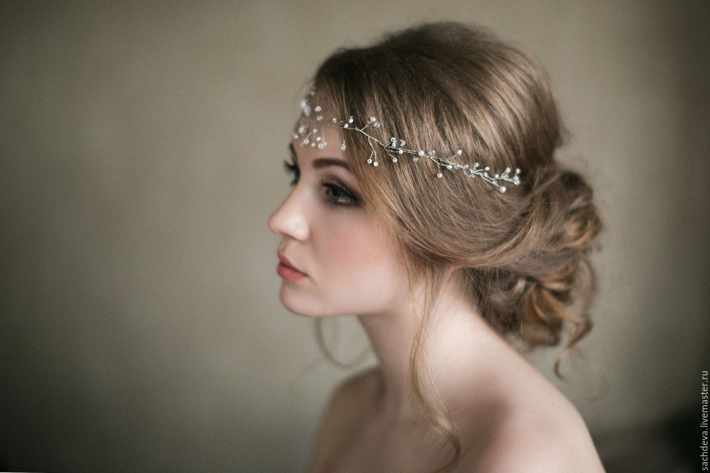 Свадебные украшения для волос москва купить