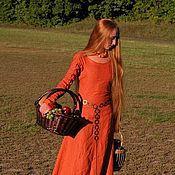 """Одежда ручной работы. Ярмарка Мастеров - ручная работа Средневековое платье """"Рыжая Элис"""". Handmade."""