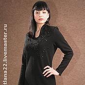 "Dresses handmade. Livemaster - original item Вязаное платье""Офисное-2"". Handmade."