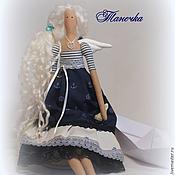 Куклы и игрушки ручной работы. Ярмарка Мастеров - ручная работа Кукла тильда ангел Танечка. Handmade.