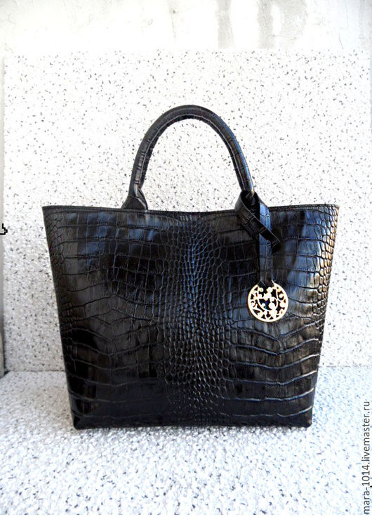 Женские сумки ручной работы. Ярмарка Мастеров - ручная работа. Купить СИТИ СТИЛЬ кожаная повседневная сумка, черная. Handmade.