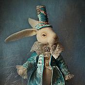 """Куклы и игрушки ручной работы. Ярмарка Мастеров - ручная работа Игрушка. Белый Кролик из """" Алисы в стране чудес"""" .. Handmade."""