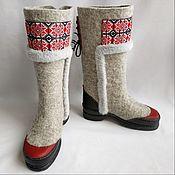 Обувь ручной работы handmade. Livemaster - original item Elegant Valenki.. Handmade.