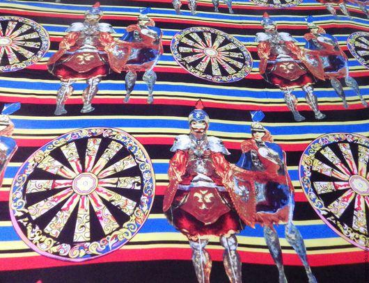 Шитье ручной работы. Ярмарка Мастеров - ручная работа. Купить Византийская коллекция в стиле Dolce & Gabbana шелк-атлас. Handmade.