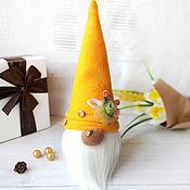 Куклы и игрушки handmade. Livemaster - original item Orange Gnome. Interior decor.. Handmade.