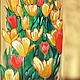 """Вазы ручной работы. Ярмарка Мастеров - ручная работа. Купить Ваза """"Тюльпаны"""". Handmade. Тюльпан, подарок цветоводу"""