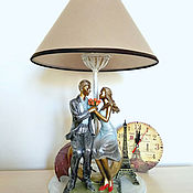 Для дома и интерьера handmade. Livemaster - original item Table lamp/ decorative lamp Midnight in Paris. Handmade.