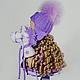 Человечки ручной работы. Александра и Юлик. Светлана Маслакова. Интернет-магазин Ярмарка Мастеров. Кукла ручной работы, кудрявая кукла