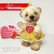 Куклы и игрушки handmade. Livemaster - original item Teddy bear Lubochka with a heart. Handmade.