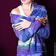 Пиджаки, жакеты ручной работы. Жакет разноцветный. Katerina Kulida. Интернет-магазин Ярмарка Мастеров. Жакет вязаный, жакет женский