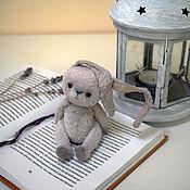 Тедди Зверята ручной работы. Ярмарка Мастеров - ручная работа Игрушки: тедди заяц. Handmade.