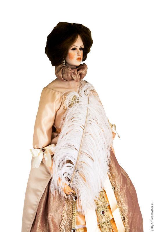 Коллекционные куклы ручной работы. Ярмарка Мастеров - ручная работа. Купить Марго. Handmade. Желтый, Будуарная кукла