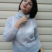 Одежда handmade. Livemaster - original item Sweater mohair. Handmade.