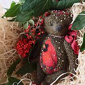 Куклы и игрушки ручной работы. Ярмарка Мастеров - ручная работа Красный кардинал. Handmade.
