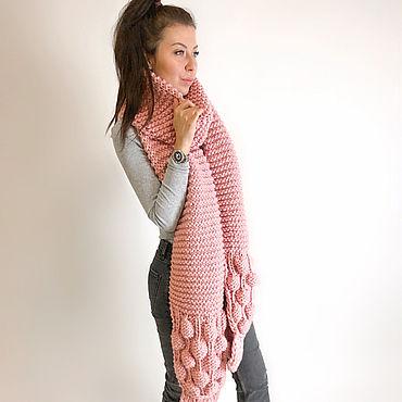 Accessories handmade. Livemaster - original item Powdery scarf. Handmade.