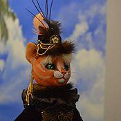 Куклы и игрушки handmade. Livemaster - original item Doll Cat. Handmade.