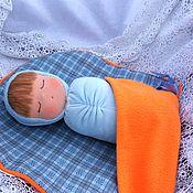 Куклы и игрушки ручной работы. Ярмарка Мастеров - ручная работа Спящая кукла Луша. Handmade.