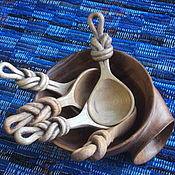 """Сувениры и подарки ручной работы. Ярмарка Мастеров - ручная работа Ложка из дерева """"Узелок на память"""". Handmade."""