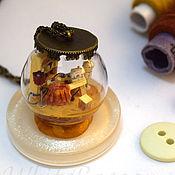 Украшения handmade. Livemaster - original item Pendant with microminiature - Sewing workshop. Handmade.