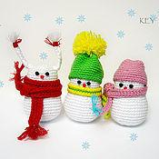 Куклы и игрушки ручной работы. Ярмарка Мастеров - ручная работа Снеговички. Handmade.
