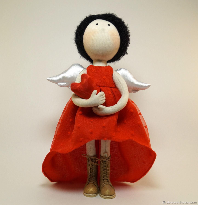 Кукла Ангел текстильная интерьерная, Куклы и пупсы, Екатеринбург,  Фото №1