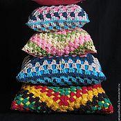 Для дома и интерьера handmade. Livemaster - original item Knitted pads. Handmade.