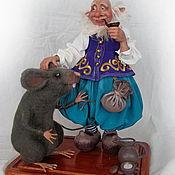 Куклы и игрушки ручной работы. Ярмарка Мастеров - ручная работа Эльф с другом. Handmade.