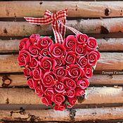 Цветы и флористика ручной работы. Ярмарка Мастеров - ручная работа Сердечко с любовью. Handmade.