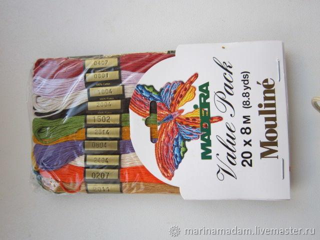 нитки мулине Madera, Приколы, Старый Оскол,  Фото №1