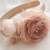 handmade. Livemaster - original item Bezel with peony roses