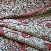 "Для дома и интерьера handmade. Livemaster - original item Set bedspread and pillows ""Dreams of Eden"". Handmade."
