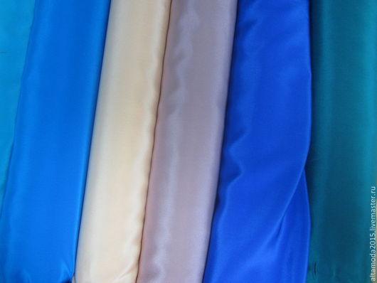 Шитье ручной работы. Ярмарка Мастеров - ручная работа. Купить Креп шелк 100% плательный 6 цветов ткань Италия. Handmade.