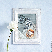 Картины и панно ручной работы. Ярмарка Мастеров - ручная работа Завтрак / акрил, холст на картоне. Handmade.