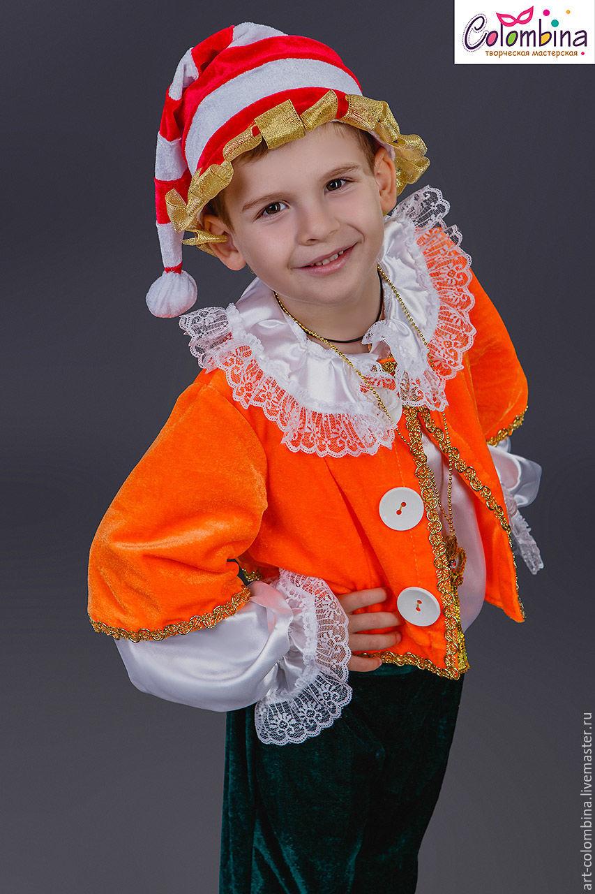 Olga (art-colombina Детские карнавальные костюмы ручной работы. Заказать Костюм  Буратино-182. Olga (art- adef01f6070a8