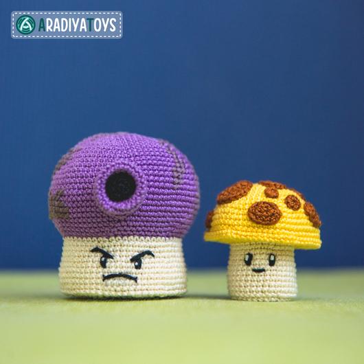 Вязание ручной работы. Ярмарка Мастеров - ручная работа. Купить Мастер-класс по созданию Sun and Fume Shrooms. Handmade.