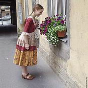 """Одежда ручной работы. Ярмарка Мастеров - ручная работа Платье в бохо-стиле """"Милая история"""". Handmade."""