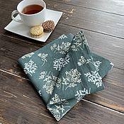 Для дома и интерьера handmade. Livemaster - original item Linen napkin, linen textile. Handmade.