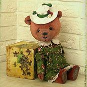 Куклы и игрушки ручной работы. Ярмарка Мастеров - ручная работа Мишка Элис Коллекционный медведь тедди. Handmade.