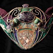 """Украшения ручной работы. Ярмарка Мастеров - ручная работа """"The Thistle of old Edinburgh"""" колье и серьги. Handmade."""
