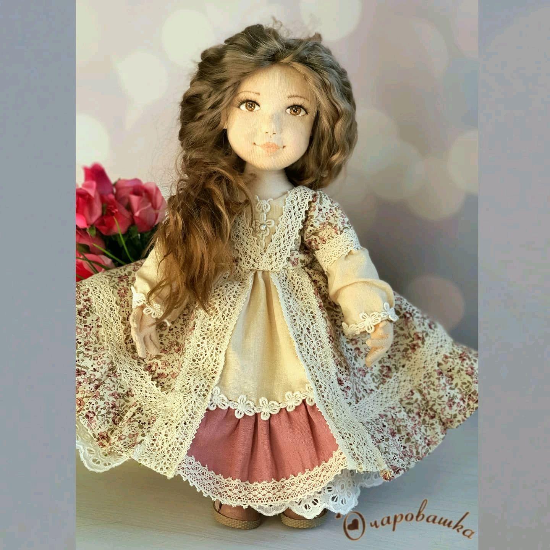 Авторская текстильная коллекционная кукла, Интерьерная кукла, Чита,  Фото №1