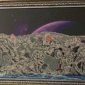 Картины и панно handmade. Livemaster - original item On the edge of the Earth. Handmade.