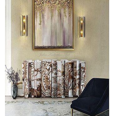 """Картины и панно ручной работы. Ярмарка Мастеров - ручная работа Картина на стену """"Сиреневый туман"""". Handmade."""