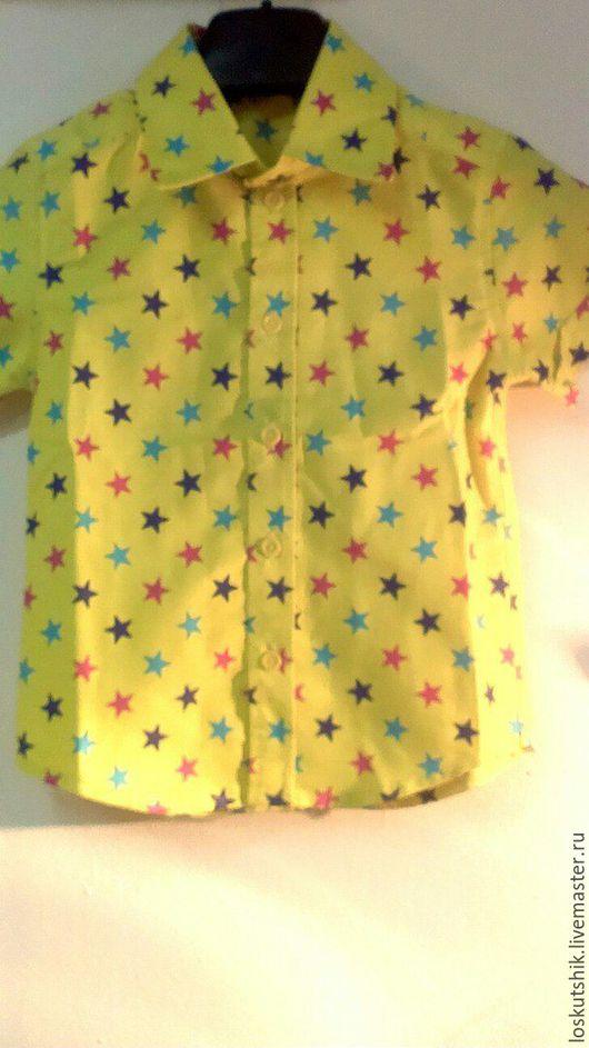 Одежда для мальчиков, ручной работы. Ярмарка Мастеров - ручная работа. Купить Рубашка для мальчика. Handmade. Хлопок, ручная работа, для мальчика
