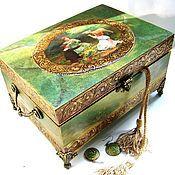 Для дома и интерьера handmade. Livemaster - original item A big box with a secret