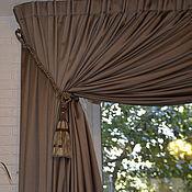 Для дома и интерьера ручной работы. Ярмарка Мастеров - ручная работа Шторы в итальянском стиле. Handmade.
