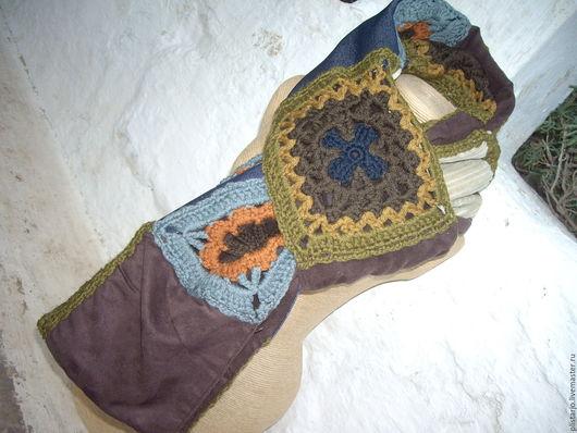 Винтажная одежда и аксессуары. Ярмарка Мастеров - ручная работа. Купить шарф в стиле пэчворк, хиппи-стиль,винтаж. Handmade. Комбинированный