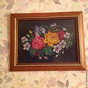 Картины и панно ручной работы. Ярмарка Мастеров - ручная работа Букет. Handmade.